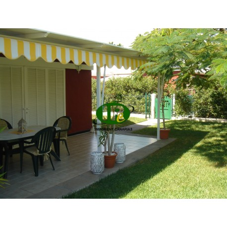 Bungalow with 2 bedrooms and large terrace