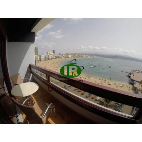 Apartmentstudio mit 1 Schlafzimmer mit Balkon und Meerblick - 1