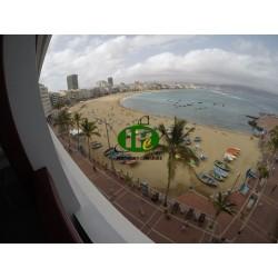 Apartamento de 1 dormitorio con balcón y vistas al mar en Las Palmas - 7