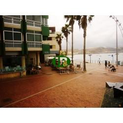 Очень хорошая квартира для отдыха на 1-й линии моря и пляжа Лас-Кантерас