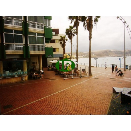 Very nice holiday apartment in 1st line to the sea and beach of Las Canteras