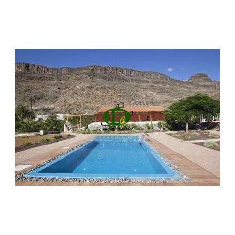 Отдельная вилла с бассейном (соленая вода), расположенная в долине Аягуарес, всего в 12 км от Плайя-дель-Инглес - 6