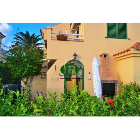Bungalow con 1,5 dormitorios, jardín de la esquina cerrada, en parte, de azulejos, en parte césped - 1