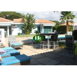 Bungalow with 2 bedrooms and 2 terraces in Maspalomas