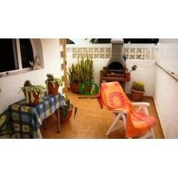 Vrijstaande bungalow met 3 grote slaapkamers in populaire faciliteit. Gesloten betegeld terras