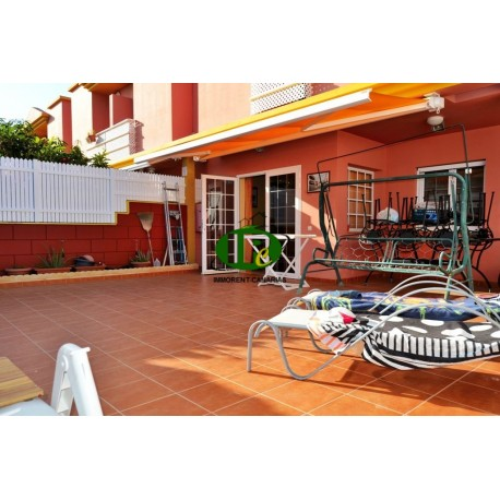 Hoek bungalow duplex met 3 slaapkamers en gesloten terras in San Agustin - 16