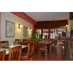 Restaurant in zentraler Lage auf ca 50 M2 Nutzfläche mit Terrasse und innen Sitzplätze für 38 Gäste.