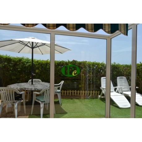 Bungalow dúplex de un dormitorio con terraza grande en esquina en Sonnenland - 3