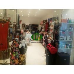 Магазин одежды площадью 50 кв.м, расположенный в хорошем месте