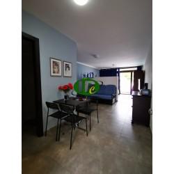 Квартира для отдыха недавно отремонтирована в популярном районе, недалеко от пляжа и центра Джамбо