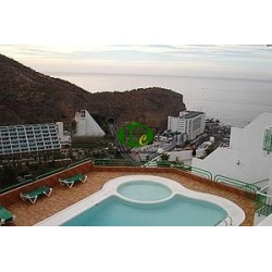 Duplex appartement met 1 slaapkamer op de 1e verdieping 80 vierkante meter balkon met uitzicht op zee